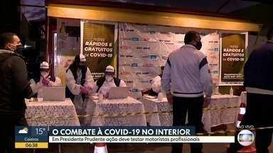 O combate à Covid-19 no interior - Explosão de casos em Sorocaba, a flexibilização em Olímpia e as ações em Jundiaí e Presidente Prudente.