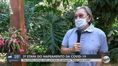 São Carlos começa 2ª etapa do mapeamento da Covid-19 - A coleta do exame de sangue ocorre no sábado (27) e domingo (28), das 8h às 17h.
