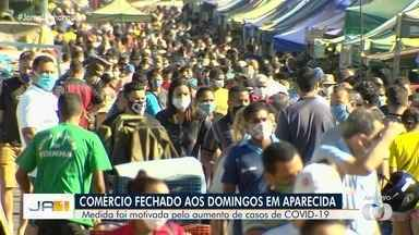 Prefeito de Aparecida de Goiânia pode determinar fechamento do comércio aos domingos - Determinação se dá após aumento no número de casos de coronavírus na cidade.