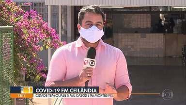 Ceilândia tem quase 5 mil casos de coronavírus - A cidade já tem 96 mortes por covid-19. O hospital da região está lotado e 202 profissionais de saúde do HRC já foram afastados com coronavírus, segundo o Conselho Regional de Enfermagem.