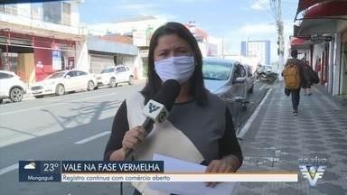 Governador João Doria fala sobre situação de Registro - Cidade deixou comércio aberto mesmo depois que Vale do Ribeira voltou para fase vermelha.