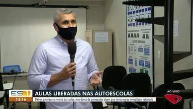 Detran libera volta de aulas teóricas presenciais no ES - Empresas terão que obedecer distanciamento mínimo, exigir uso de máscara e disponibilizar produtos de higiene.