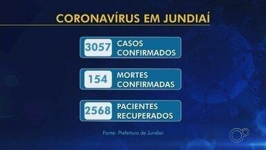 Jundiaí contabiliza 154 mortes por Covid-19 e 3.057 casos de coronavírus - A Prefeitura de Jundiaí (SP) confirmou 106 novos casos de coronavírus nesta terça-feira (23). A cidade também registrou dois novos óbitos pela doença.