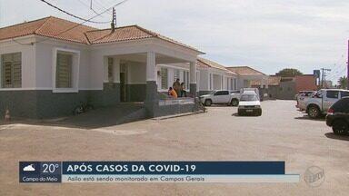 Idosos são isolados em asilo após sete testarem positivo para a Covid-19 em Campos Gerais - Idosos são isolados em asilo após sete testarem positivo para a Covid-19 em Campos Gerais