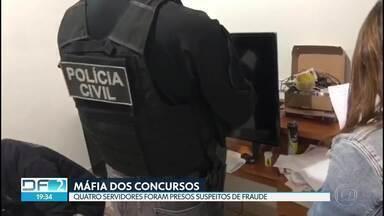 Polícia prende servidores suspeitos de fraudar concursos públicos - Mandados foram cumpridos em endereços da capital e na região do Entorno.