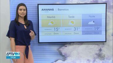 Veja a previsão do tempo para esta quarta-feira (23) na região de Ribeirão Preto - Umidade baixa do ar deve se manter até sexta-feira (26).