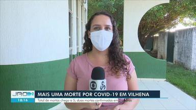 Vilhena registra duas mortes por Covid-19 em 24 horas - Última morte foi de um pastor de 47 anos
