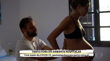 Parto fora do ambiente hospitalar em São Paulo - Com medo da Covid-19, gestantes buscam parto natural.