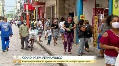 Depois de flexibilização, regiões de Pernambuco tem aumento de contágio e preocupam - Caruaru e Bezerros, no Agreste, vão ter nova quarentena a partir da próxima sexta-feira.