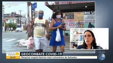 Pesquisa aponta as regiões de Salvador com maior vulnerabilidade aos efeitos da pandemia - Dez bairros da capital baiana compõem a relação, feita por pesquisadores de várias instituições de ensino e representantes do poder público.