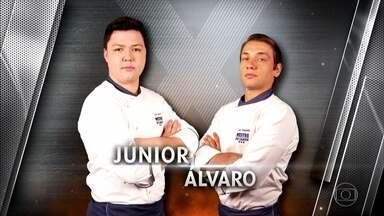 Júnior e Álvaro se enfrentam no segundo duelo - O ingrediente escolhido é a batata-doce