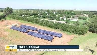 Capital tem Política de Estímulo e Incentivo ao Aproveitamento da energia solar - Capital tem Política de Estímulo e Incentivo ao Aproveitamento da energia solar