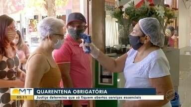 Prefeitura de Cuiabá cumpre decisão e decreta quarentena - Prefeitura de Cuiabá cumpre decisão e decreta quarentena