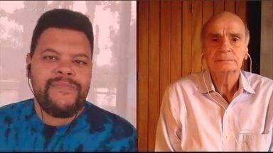 'Pensei que era coronavírus', diz Babu Santana após diagnóstico de diabetes - O Dr. Drauzio Varella conversou com o ator Babu Santana sobre o diagnóstico e os cuidados que a doença exige no futuro.