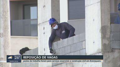 PAT de Araraquara registra aumento nas contratações em vagas de reposição - Postos de trabalho foram para serviços essenciais e construção civil.