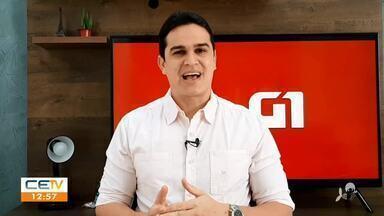Confira dos destaques do G1 Ceará desta segunda-feira (29) com Valdir Almeida - Saiba mais no g1.com.br/ce