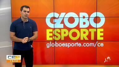 Confira as notícias do esporte desta segunda-feira (29) com Marcos Montenegro - Saiba mais no g1.com.br/ce