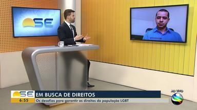 Desafios para garantir direitos da população LGBT é tema de entrevista - Desafios para garantir direitos da população LGBT é tema de entrevista.