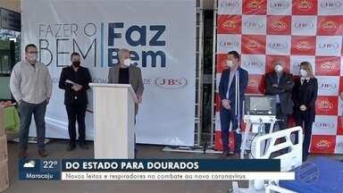 Secretário de Saúde de MS fala sobre novos leitos e respiradores para Dourados - Em Mato Grosso do Sul.