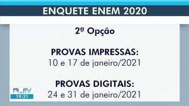 Ministério da Educação prorroga prazo para formalizar o Fies - Além disso, enquete para escolha das datas do Enem 2020 encerra nesta terça-feira.
