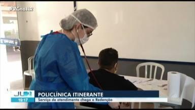 Policlínica faz atendimento especializado para Covid-19 em Redenção, no Pará - Policlínica faz atendimento especializado para Covid-19 em Redenção, no Pará