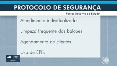 Protocolos do governo para funcionamento de estabelecimentos são divulgados - Protocolos do governo para funcionamento de estabelecimentos são divulgados