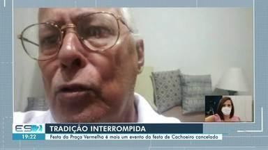 Festas são canceladas por causa da pandemia em Cachoeiro de Itapemirim, ES - Confira na reportagem.