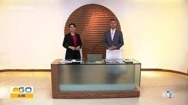 Confira os destaques do Bom Dia Goiás - Entre os principais assuntos está publicação de novo decreto do governo.