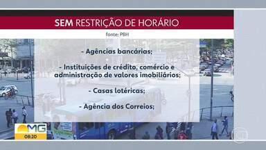 Veja o que pode e o que não pode funcionar em BH - Guarda Civil fecha estabelecimentos que abrem irregularmente.