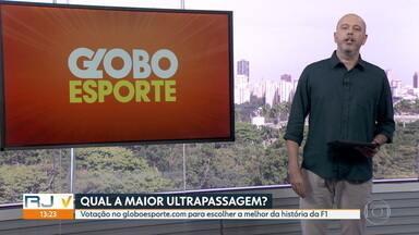 Veja o bloco do Globo Esporte no RJ1 de terça-feira, 30/06/2020 - Veja o bloco do Globo Esporte no RJ1 de terça-feira, 30/06/2020