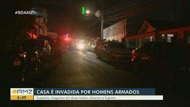 Casa é invadida por homens armados na Zona Sul de Manaus - Um casal foi morto. Um adolescente ficou ferido.