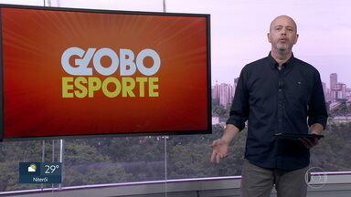 Veja o bloco do Globo Esporte no RJ1 de quarta-feira, 01/07/2020 - Veja o bloco do Globo Esporte no RJ1 de quarta-feira, 01/07/2020