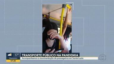Telespectadores reclamam de ônibus cheios - Situação é risco em tempos de pandemia.