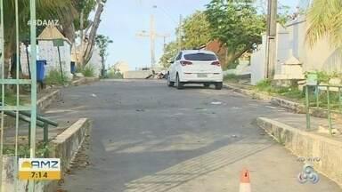 Homem é preso após desenterrar corpo da avó, no bairro Morro da Liberdade - Homem de 32 anos invadiu o local por volta das 4h da manhã.