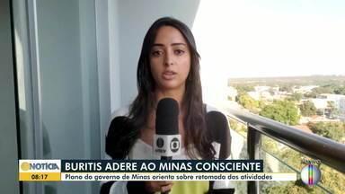 Buritis adere ao plano do Governo de Minas que orienta sobre retomada de atividades - Adesão ao Plano Minas Consciente pode provocar mudanças na região.