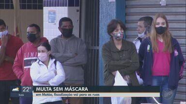 Matão orienta sobre uso obrigatório de máscaras e aplica multa para quem desrespeitar - Medidas seguem as determinações do decreto do governo do estado de São Paulo.