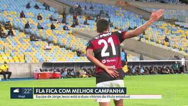 Já classificado, Flamengo vence o Boavista e consolida liderança geral do Carioca - Já classificado, Flamengo vence o Boavista e consolida liderança geral do Carioca