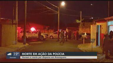 Homem é morto a tiros em Araraquara após atacar PM com facão, diz boletim de ocorrência - Caso aconteceu no Jardim Iguatemi. Vítima foi identificada como Bonifácio Sebastião da Silva, de 66 anos.