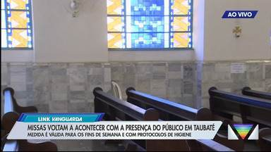 Taubaté voltará a ter missas com público a partir de sábado - Diocese anunciou a reabertura gradual das igrejas