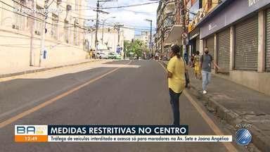 Medidas restritivas mais severas entram em vigor em locais do Centro e do Subúrbio - Saiba mais detalhes sobre a incidêndia da Covid-19 nos bairros da capital. A Pituba continua com maior número de registros na cidade.