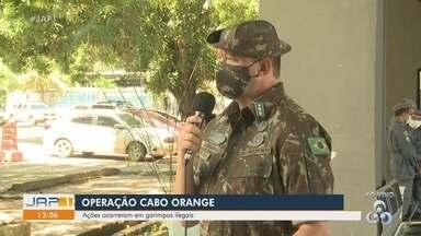 Operação Cabo Orange do Exército intensificou ações contra garimpos ilegais na fronteira - Operação Cabo Orange do Exército intensificou ações contra garimpos ilegais na fronteira