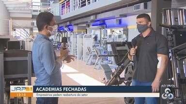 Empresários pedem reabertura das academias de Macapá - Empresários pedem reabertura das academias de Macapá