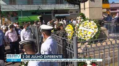 Comemoração da Independência do Brasil na Bahia 2020 é marcada por programação virtual - A data cívica é celebrada nesta quarta-feira, 2 de julho.