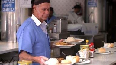 Claude apresenta tradicional restaurante paulistano - O restaurante é especializado em pratos feitos