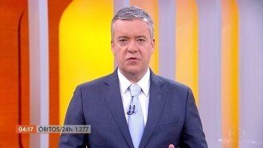 Brasil chega a 61.990 mil óbitos por Covid-19, segundo consórcio de veículos de imprensa - Em 24 horas foram confirmadas 1.277 mil mortes.