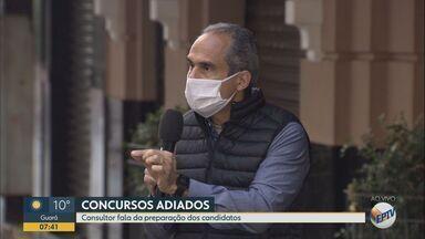 Consultor de carreira ensina como se preparar para concursos públicos durante a pandemia - Provas foram adiadas por conta da pandemia do novo coronavírus.