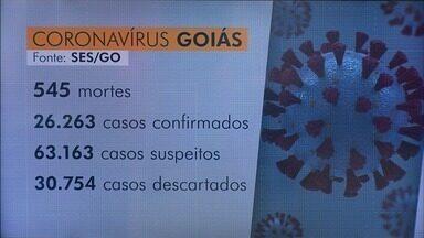 Goiás registra 5,3 mil novos casos de Covid-19 em uma semana, diz governo - Há outros 63.163 casos em investigação.