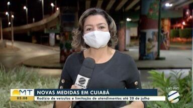 Cuiabá vai ter rodízio de veículos nas ruas - Cuiabá vai ter rodízio de veículos nas ruas