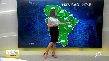 Veja a previsão do tempo com Bárbara Sena - Saiba mais em g1.com.br/ce