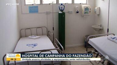 Metade dos leitos para Covid-19 estão ocupados; Hospital do Fazendão vai ser desativado - Veja informações sobre a taxa de ocupação na rede pública de saúde.